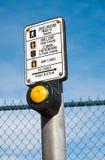 Crosswalk Button Stock Images