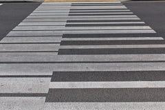 Crosswalk del piano Immagini Stock Libere da Diritti