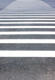 Crosswalk do pedestre Fotografia de Stock