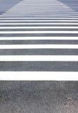 Crosswalk do pedestre fotografia de stock
