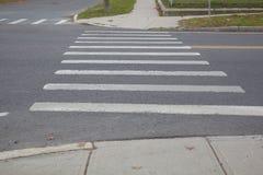 Crosswalk Royalty Free Stock Photo