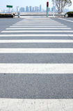 Crosswalk line Stock Image