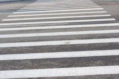 Crosswalk line Royalty Free Stock Image