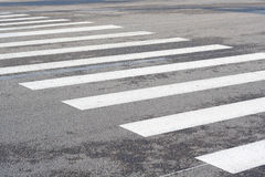 Crosswalk line Royalty Free Stock Photos