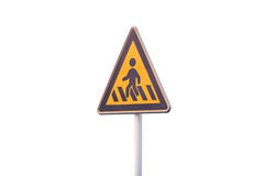 Crosswalk markings Royalty Free Stock Images