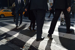 Crosswalk. Stock Photography