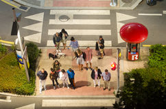 Crosswalk Stock Photography