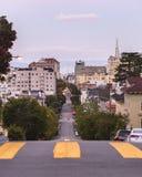 Crosswalk in San Francisco Stock Image