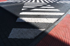 Crosswalk Royalty Free Stock Photos