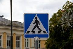 Crosswalk sign in Malmö, Sweden