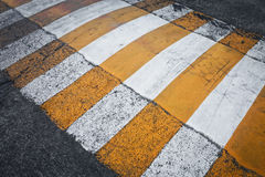 Crosswalk on the street Royalty Free Stock Photography