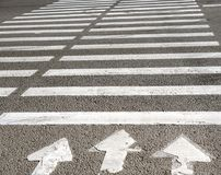 Free Crosswalk With Road Marking. Royalty Free Stock Image - 110083216
