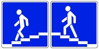 crosswalks διανυσματική απεικόνιση