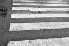 Crosswalks Royalty Free Stock Photo