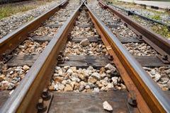 Crossway spoorweg Royalty-vrije Stock Foto