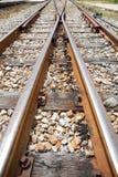 Crossway spoorweg Royalty-vrije Stock Afbeeldingen