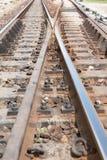 Crossway spoorweg Stock Afbeeldingen