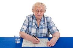 crossword łamigłówka zdjęcie royalty free