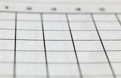 Crossword łamigłówki siatka zdjęcie royalty free