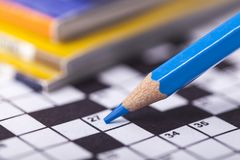 crossword photographie stock libre de droits