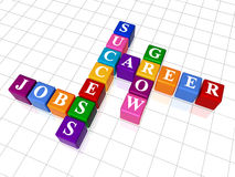 Crossword 15 Stock Photo