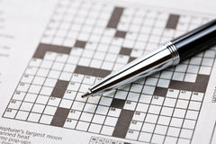 Crossword Stock Photos
