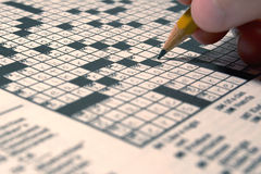 Free Crossword Royalty Free Stock Image - 203336