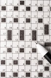 Crossword Royalty Free Stock Photo