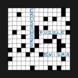 Crossword Stock Photo
