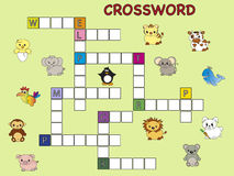 Crossword Zdjęcia Stock