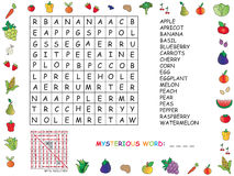 crossword Fotos de Stock Royalty Free