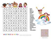crossword Imagens de Stock Royalty Free
