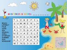 crossword Imagens de Stock