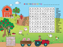 crossword Imagem de Stock Royalty Free