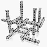 Crossword Business Stock Photography