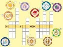Crossword Royalty Free Stock Photography