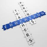 Crossword edukacja ilustracja wektor