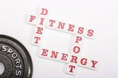 Crossword health Royalty Free Stock Image