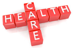Crossword Health Care Royalty Free Stock Image