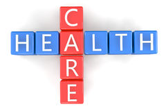 Crossword Health Care Stock Photography