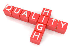 Crossword High Quality Royalty Free Stock Photography