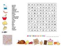Crossword royalty free stock photo