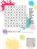 Crossword Stock Image