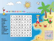 Crossword Stock Images