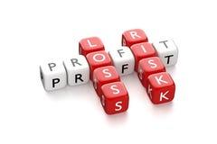 Free Crossword Profit Loss Stock Photo - 59871570