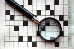 Crossword puzzle Royalty Free Stock Photo