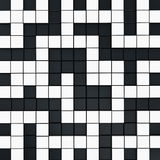 Crossword puzzle background Stock Images