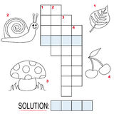 Crossword Puzzle For Kids, Part 1