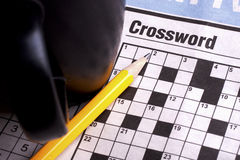Crossword Royalty Free Stock Photos