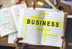 Crossword Puzzle Game Strategy Business Concept Stock Photography